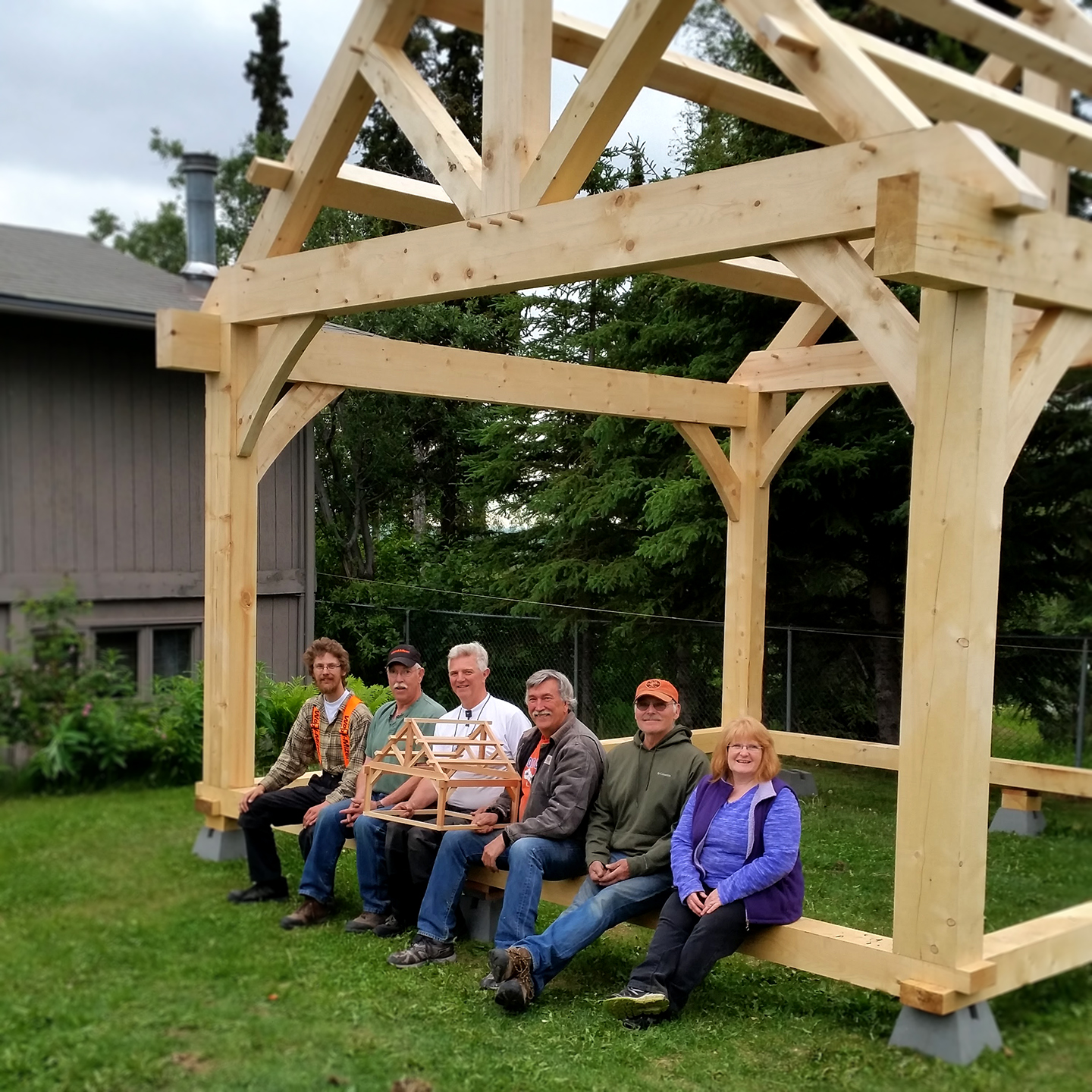 We Have Also Been Running Timber Framing Courses In Alaska Since 2016.