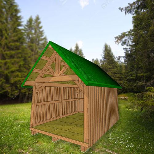 Alaska traditional timber framing course thomson timber
