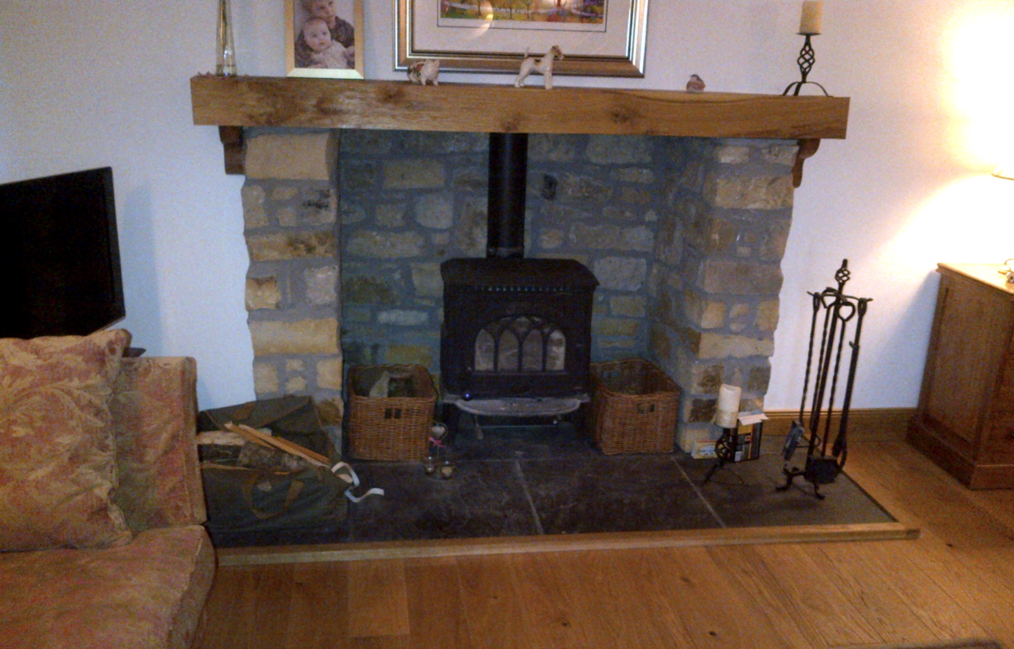Elm Mantel Fireplace Rustic Wooden Sleeper Lintel Thomson Timber Scotland Fireplace Square2