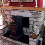 Wooden Mantel Piece Scotland Timer Hardwood Elm Fireplace
