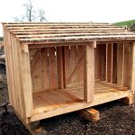 logstore solid timber medium size