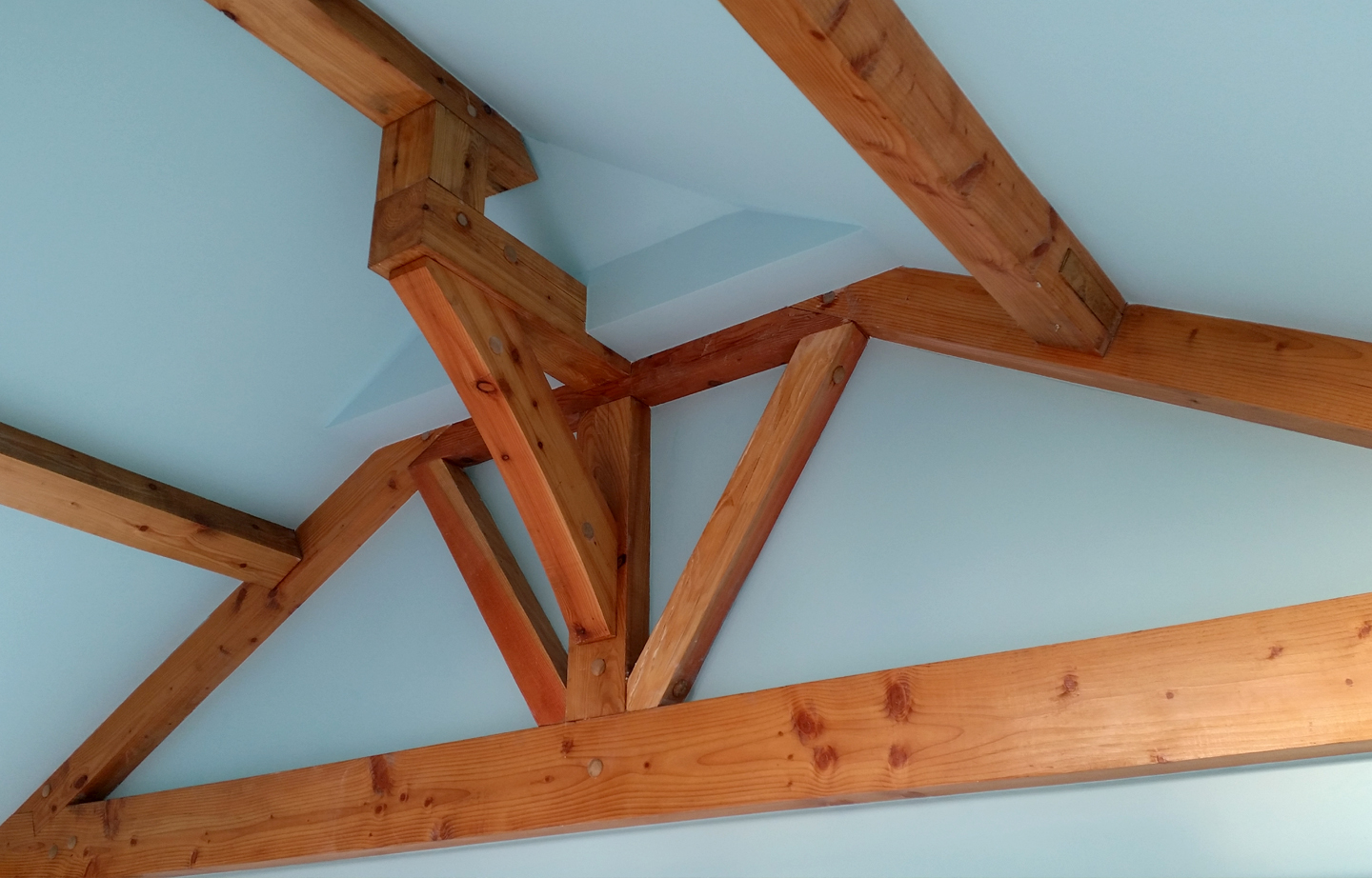 carpentry detail traditional timber framing Fife