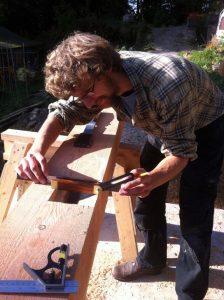 Traditional Carpentry skills Timber Framing