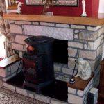 Wooden Mantel Piece Scotland Timer Hardwood Elm Fireplace