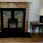 Wooden Mantel Fireplace Scotland