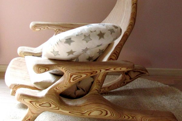 Plywood rocking Chair Contemporary furniture