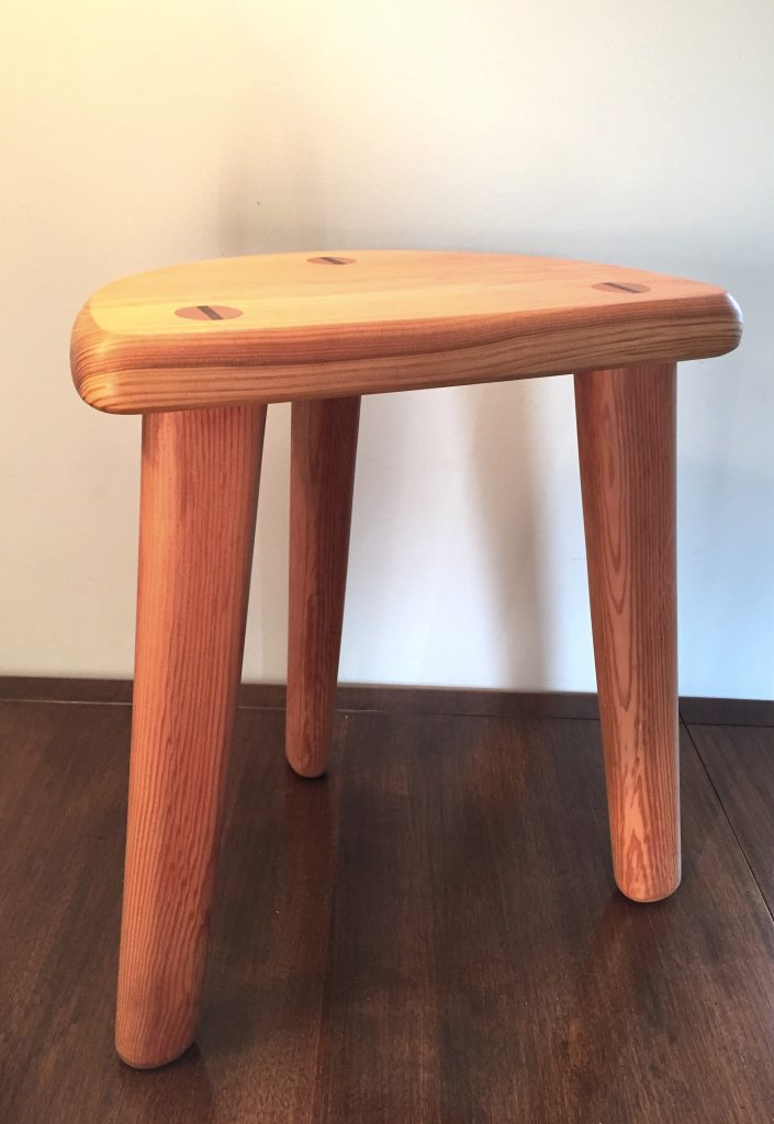 milking stool craig thomson scotland handmade furniture