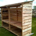 double storey logstore storage woodstore scotland