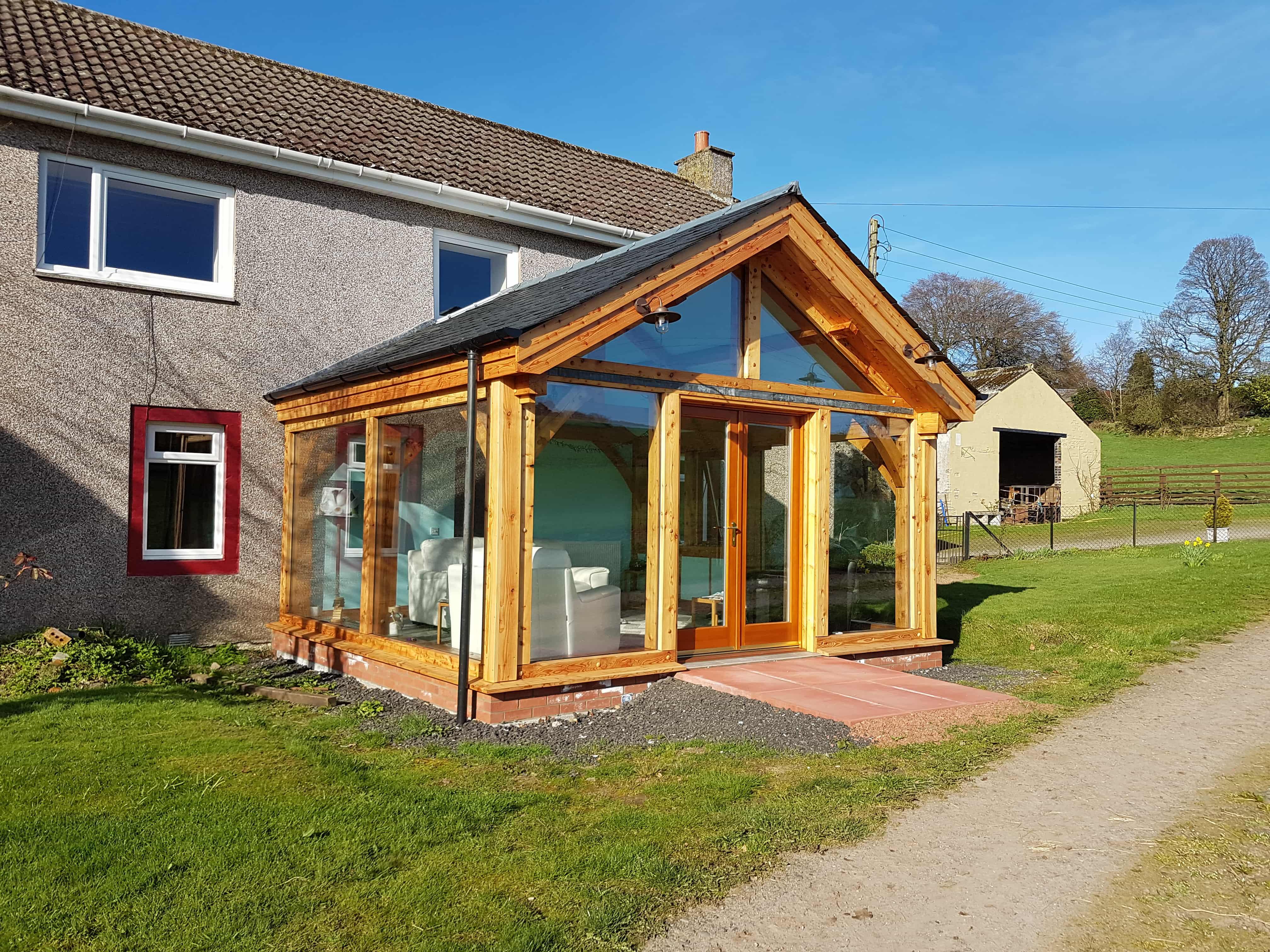Wooden Extension Scotland